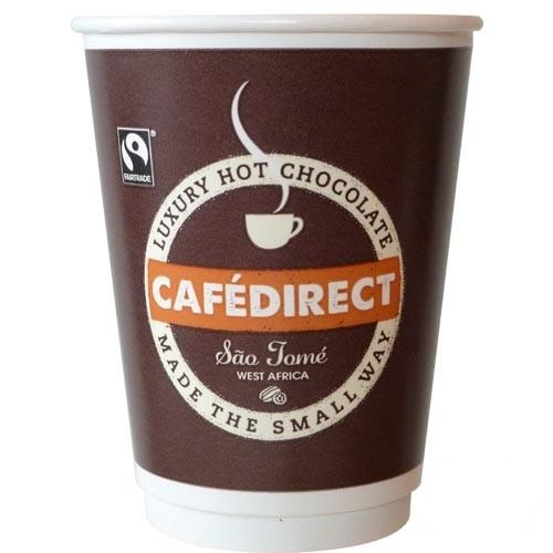 CAFÉDIRECT HOT CHOCOLATE 12OZ RECYCLABLE DRINKS
